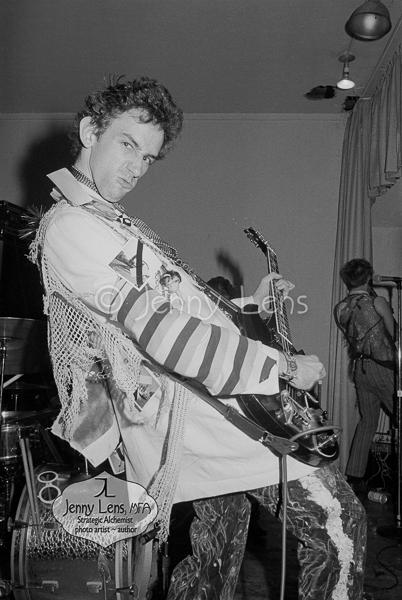 Dix Denney, 1977 - photo by Jenny Lens
