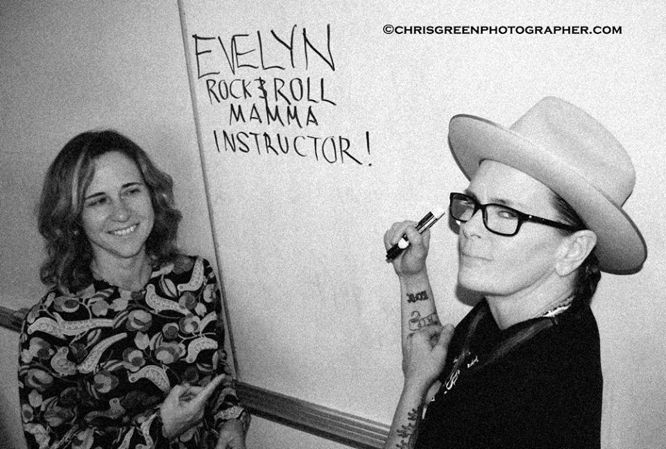 Evelyn McDonnell and Kari Krome, photo by Chris Green.