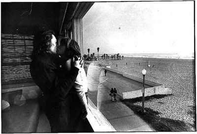 Claude and Philly in Santa Monica, CA in 1974.