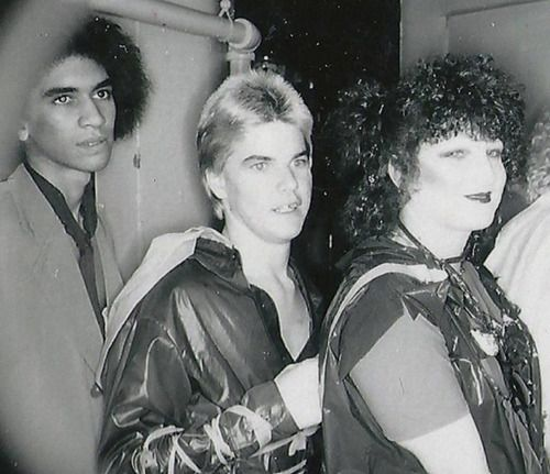 Pat Smear, Bobby Pyn, Connie Clarksville in 1977, photo credit unknown