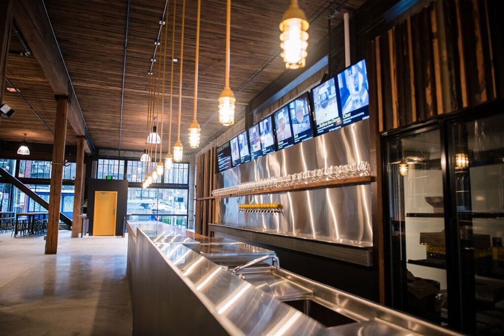 Next we went and shot photos of their latest projects, like Optimism Brewery.