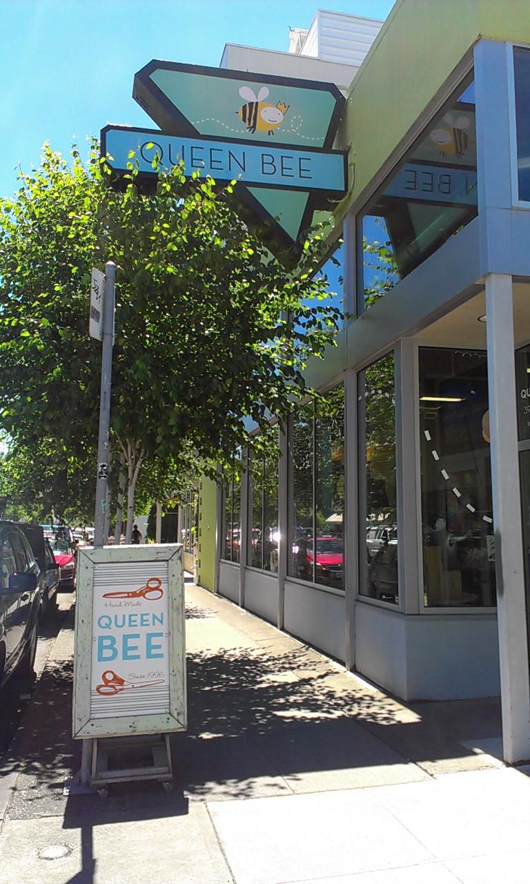 Queen Bee in Portland