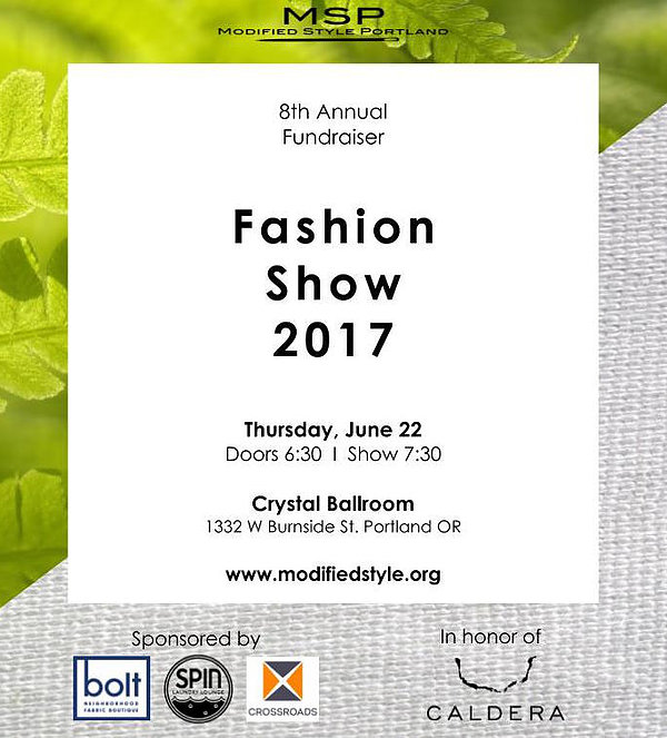 Modified Style Portland 2017 Fashion Show