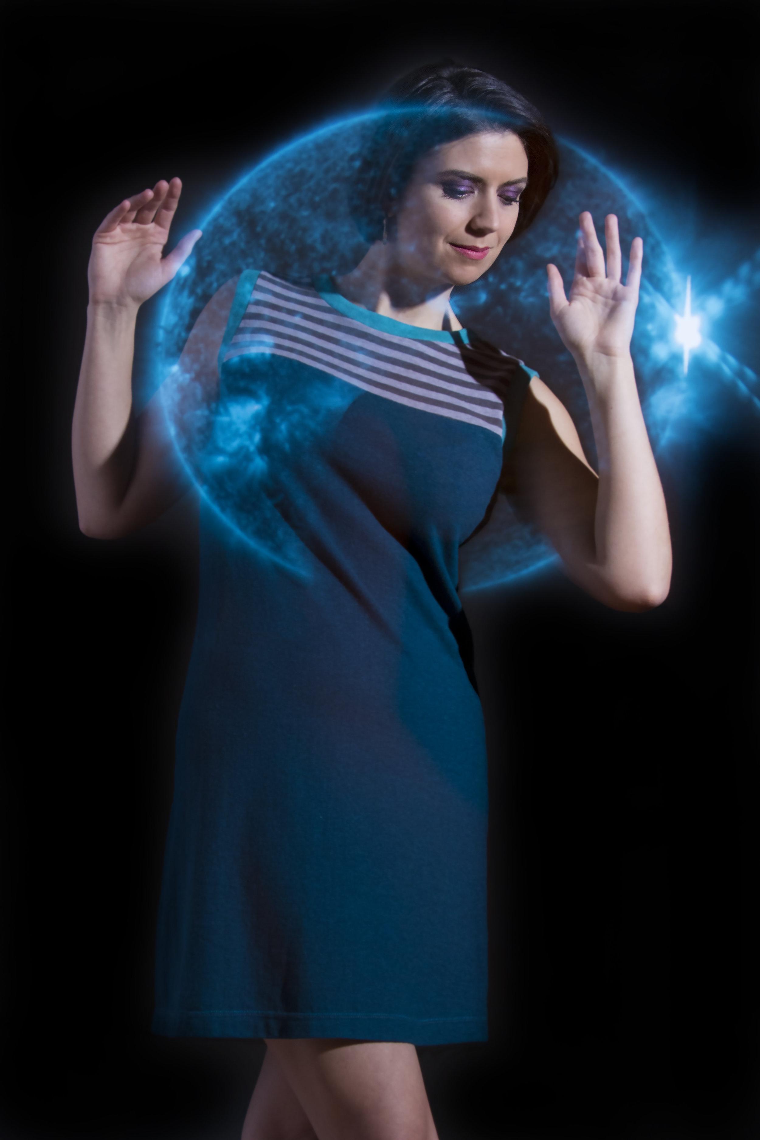 Blue Sunbeam Dress