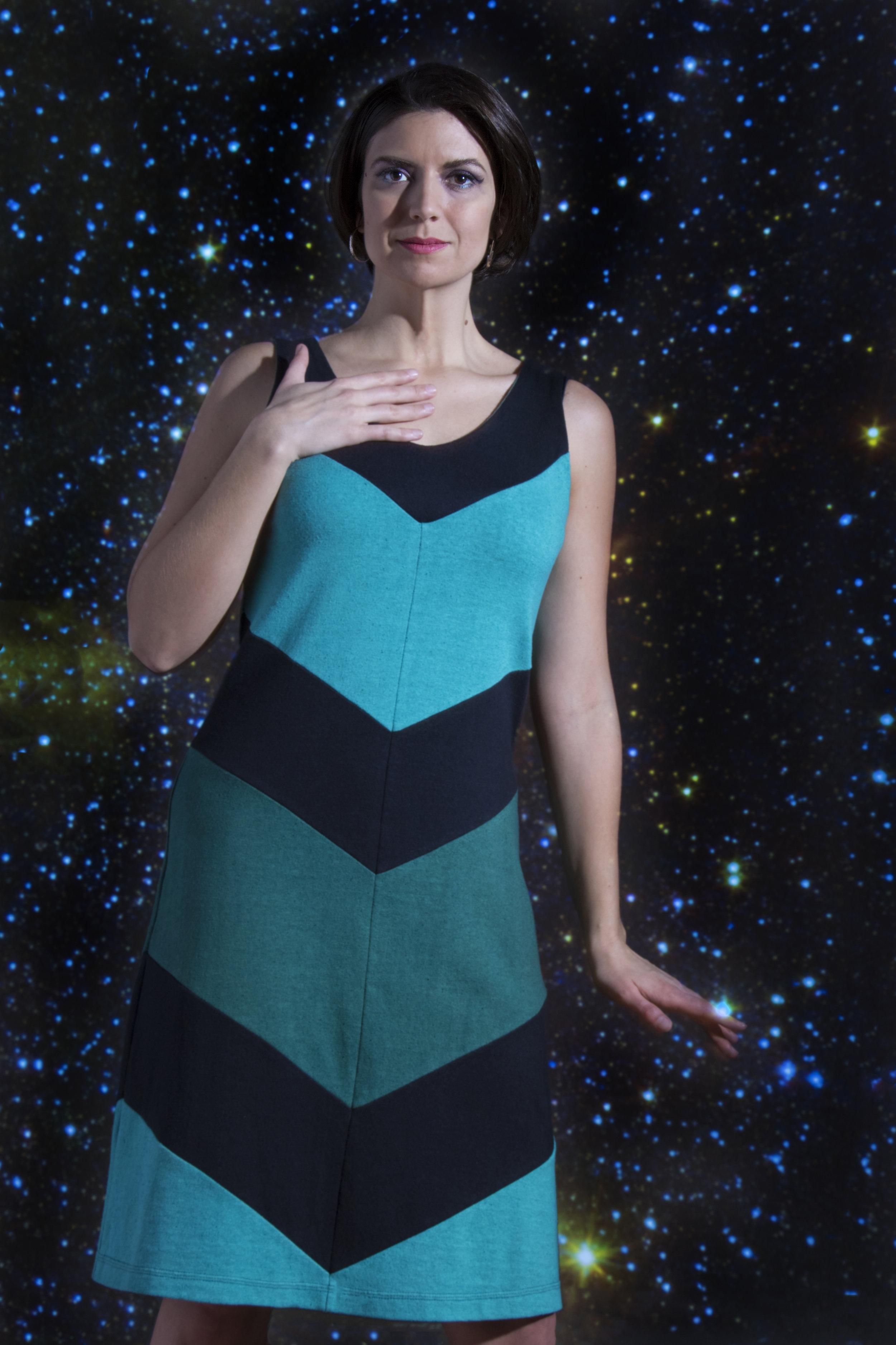 Super Nova Dress in the Stars