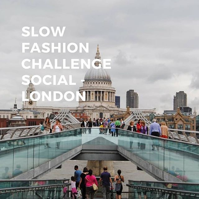 As you may know I co-host the @slowfashionchallenge with @readorn.london. Are you in London and interested in sustainable fashion? We'd love to connect with you while I am there. 🌎 Repost: @slowfashionchallenge Slow Fashion Challenge Social - London Edition  Yes, you read that right! We are excited to announce that we're planning a meet in London and you're all invited!  The Slow Fashion Challenge is hosted by 2 people who live on opposite sides of the world - Amy Daileda owner of @vividelementamy who lives in Portland Oregon, USA and Louise Kane owner of @readorn.london who lives in London, England.  Amy is flying to London to be part of @pausefashionhub pop up during London Fashion Week, which is mega exciting and we couldn't let the opportunity of Amy being on British soil pass without trying to get our wonderful UK Slow Fashion Challenge community together!  Our venue is to be confirmed but we're thinking a café close to Spitalfields Market/Brick Lane so its nice and central and easily accessible for us all to get to.  We're planning our meet to be a relaxed affair, coffee, slow fashion chat, cake (perhaps a presecco) and some letter writing to fast fashion giants to ask in writing 'Who Made My Clothes?' We'll be providing materials - pens, postcards and templates for you guys to jot down and add your names too. All you need to do is turn up!  Amy is in London mid September so please drop us a comment below with 'weekend' or 'weekday' as your preference and we'll do what we can to get us all in the same room in the name of Slow Fashion, we'll announce our date shortly!  Who's coming? 🙋🏼‍♀️ 📸 St Pauls Cathedral @readorn.london  #slowfashionchallenge #slowfashionsocial #londonfashion #secondchancefashion #slowfashion #slowfashionstyle #londonfashionweek #slowfashionmovement #slowfashionblogger #slowfashionpassion #slowfashioncommunity #slowfashionrevolution #ecofashionblogger #ethicalfashion #ethicalshopping #sustainablefashion #fashionrevolution #fashrev #whomademyclothes #lovedclotheslast #sustainableliving #sustainability #sustainablestyle #SustainableFashion #londonfashionista