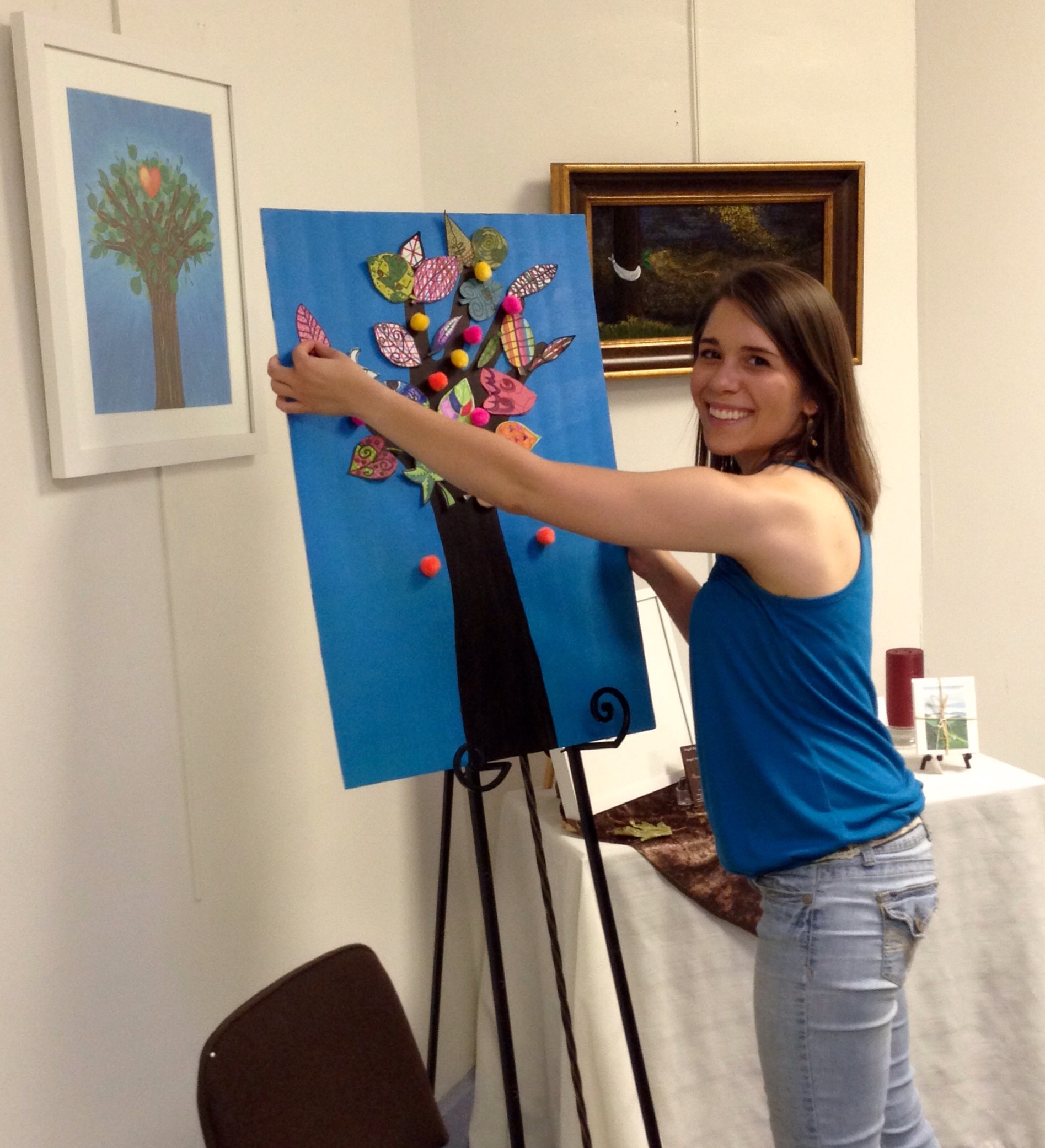 Amy Thieme was my awesome studio assistant for the project.