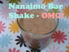 Nanaimo bar shake