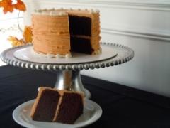 Chocolate paprika cake