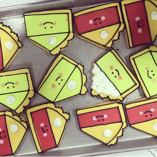 Click to see who made these cookies inspired by my artwork!