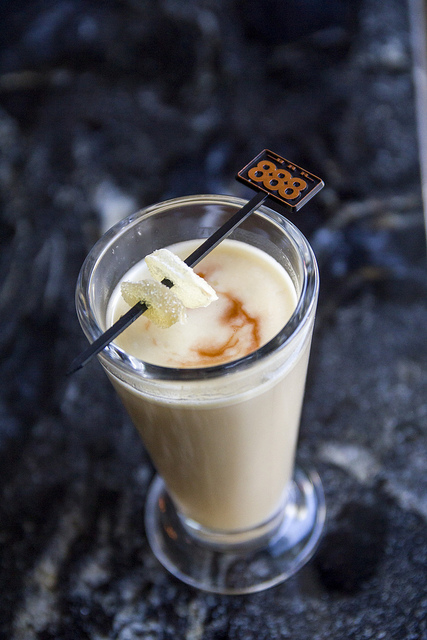 A creative hot buttered rum. Photo licensed via Creative commons by Flickr member  lemon168