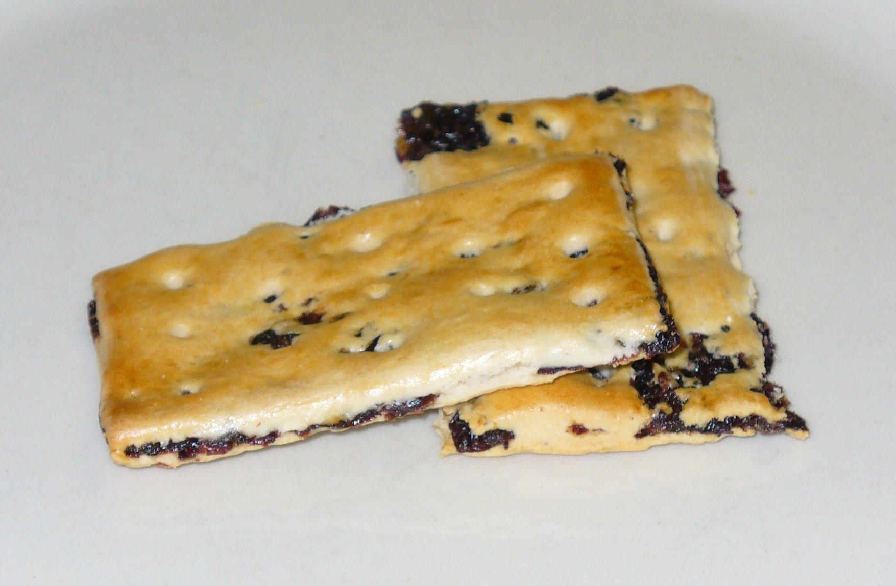 Garibaldi biscuit, via Wikipedia