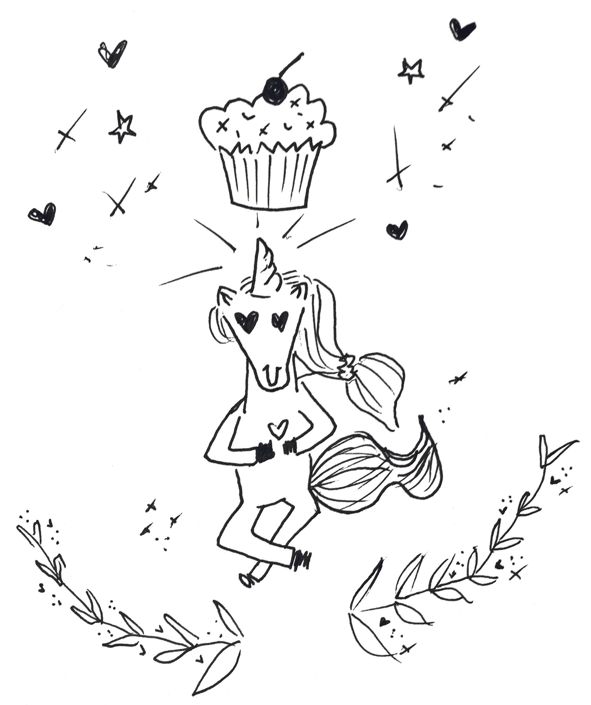 Note: I had a few friends create these illustrations, inspired by CakeSpy and me over the years. Thank you Caleigh, Sam, Jenna, Kate, and Susan!