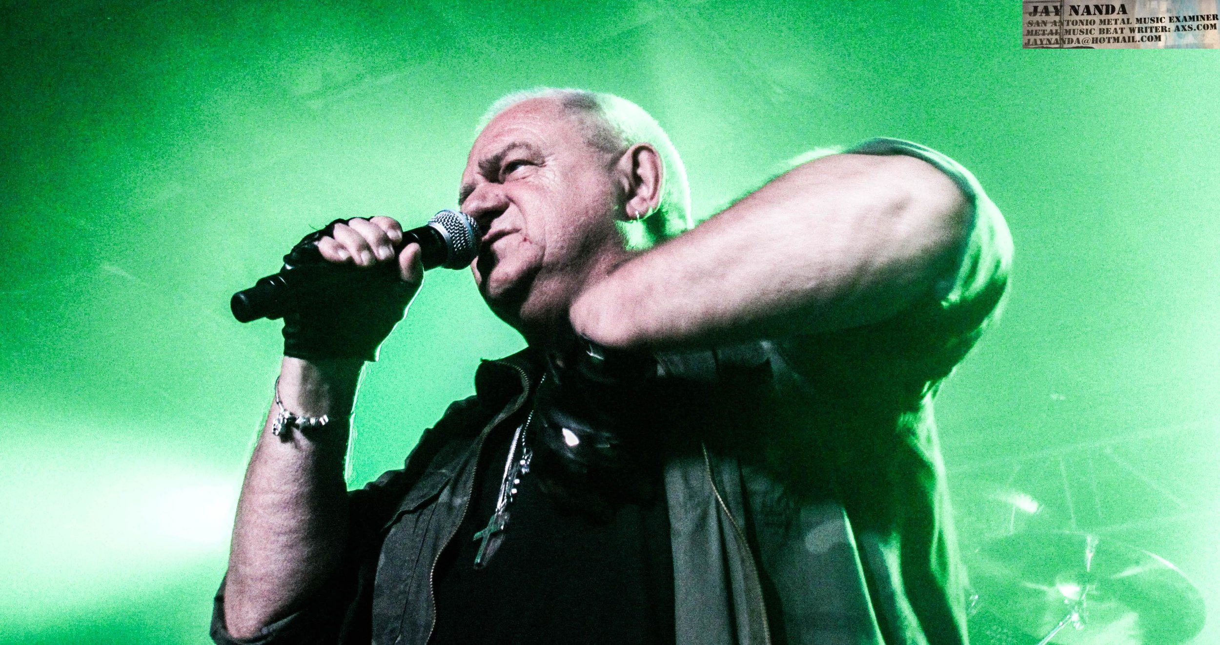 Dirkschneider played an hour and 48 minutes of his classic Accept tracks as part of a much different set from his Part 1 visit last year.