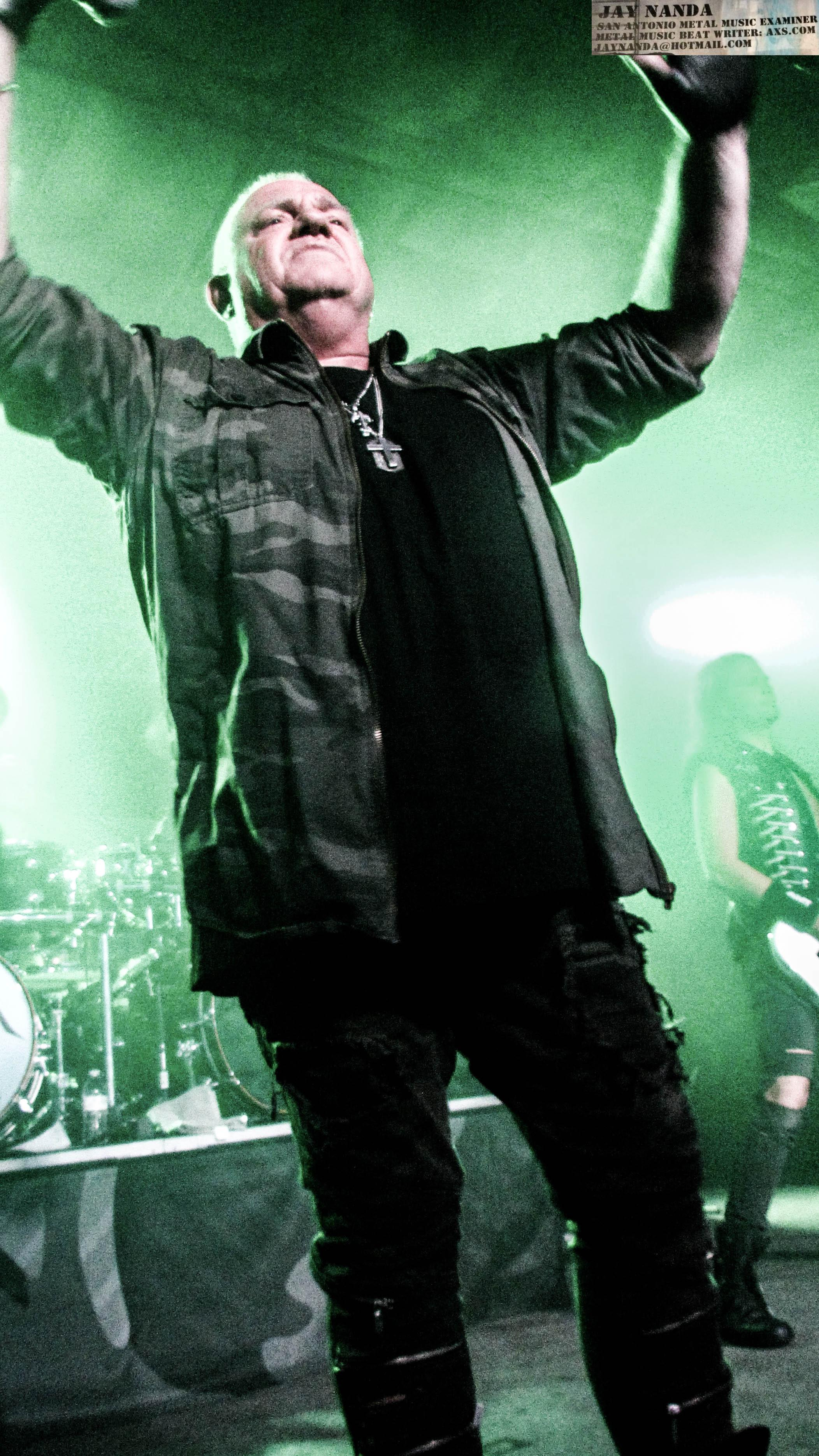 Dirkschneider and his crew performed 20 songs on the night.