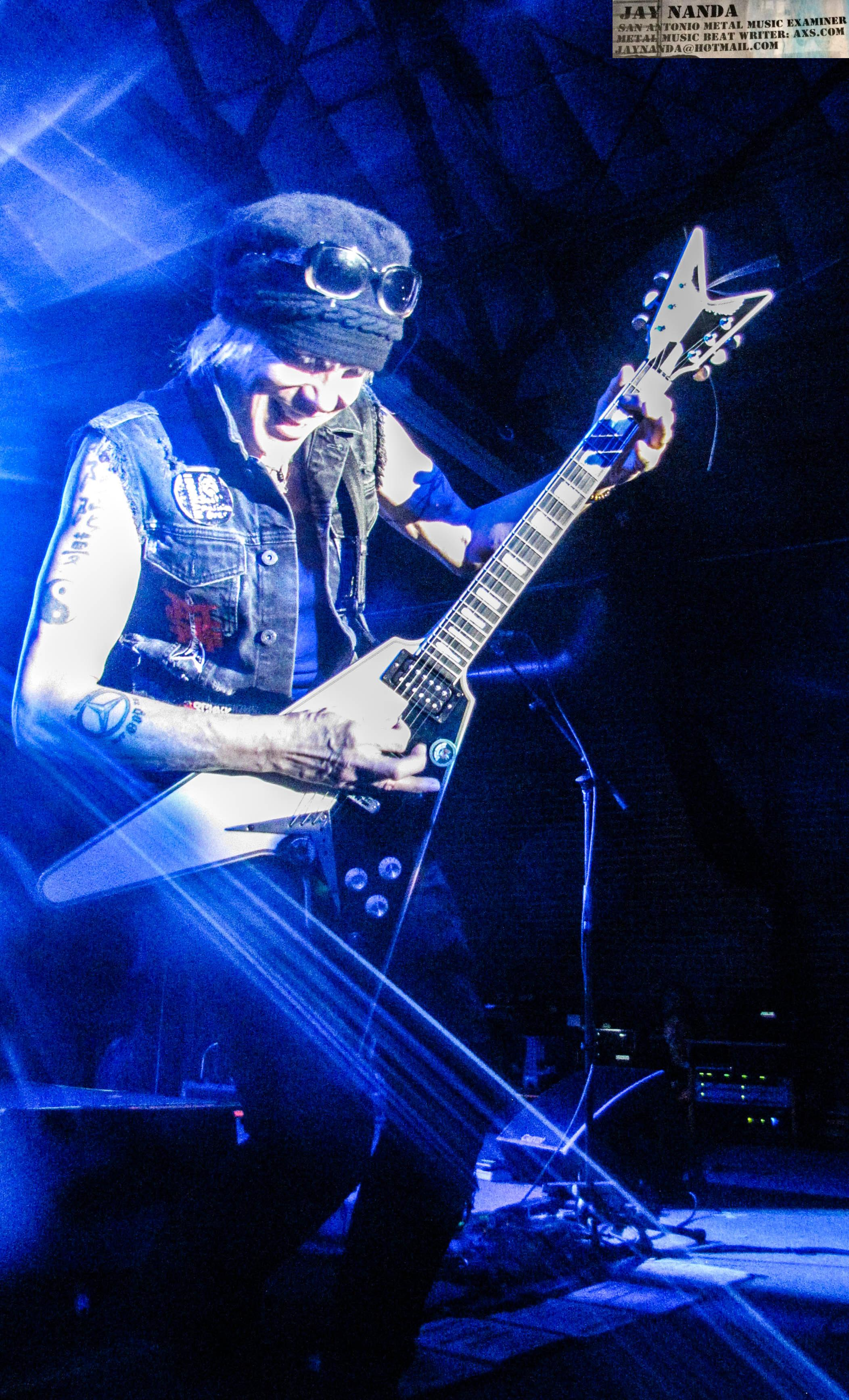 Schenker rips into a solo.