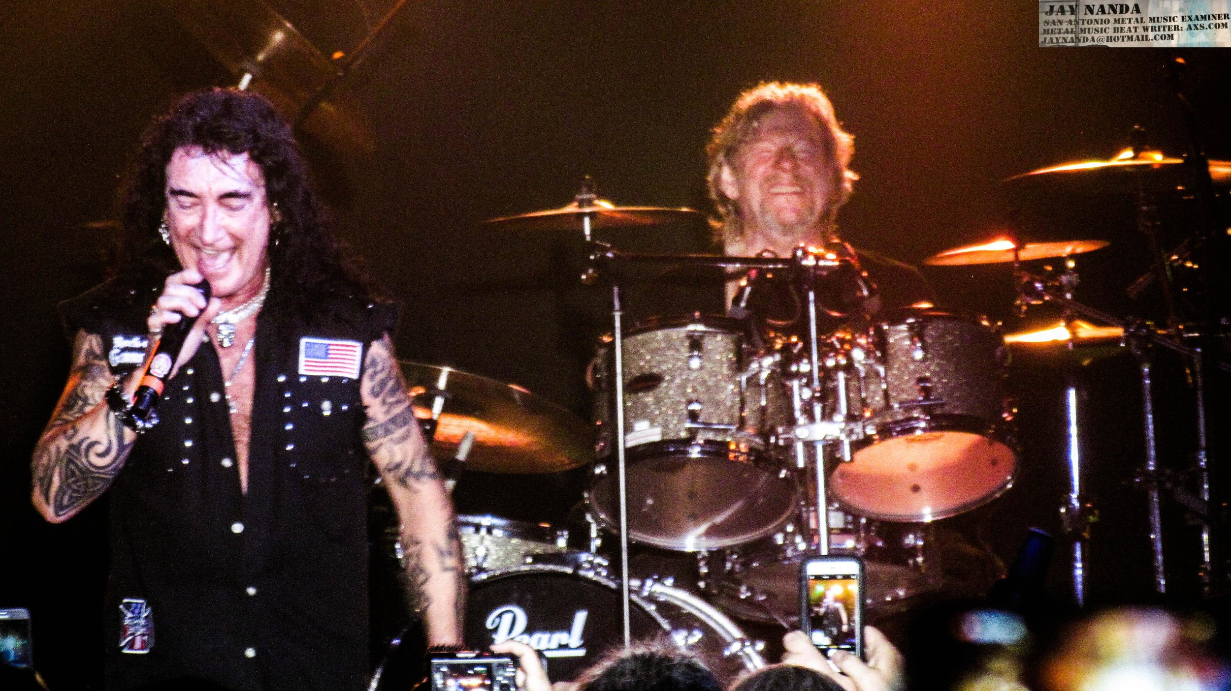 """McAuley sings one of his 1989 tracks with McAuley Schenker Group, """"Bad Boys,"""" while McKenna provides the drum work."""