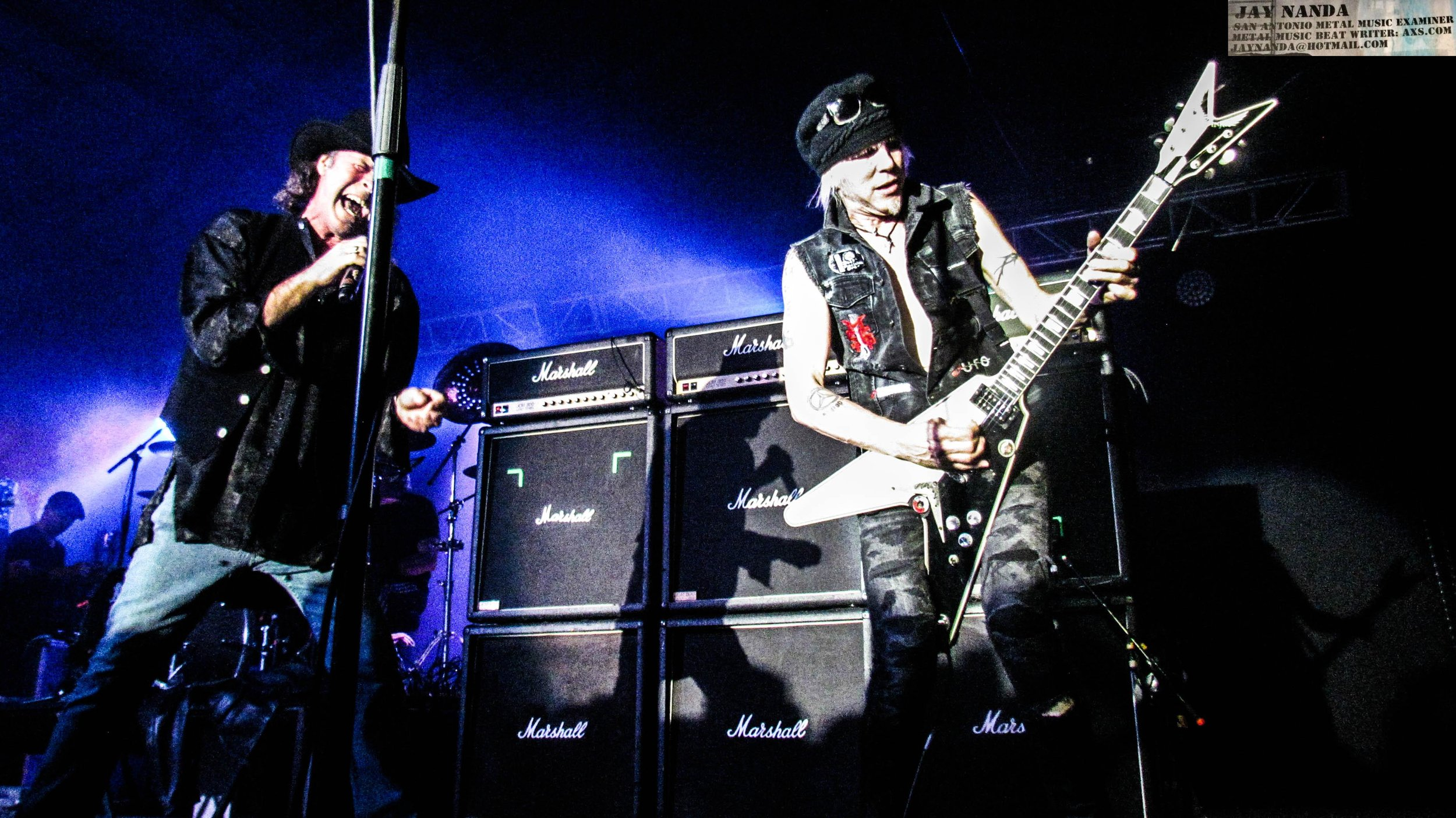 Barden and Schenker rock the Vibes Event Center.