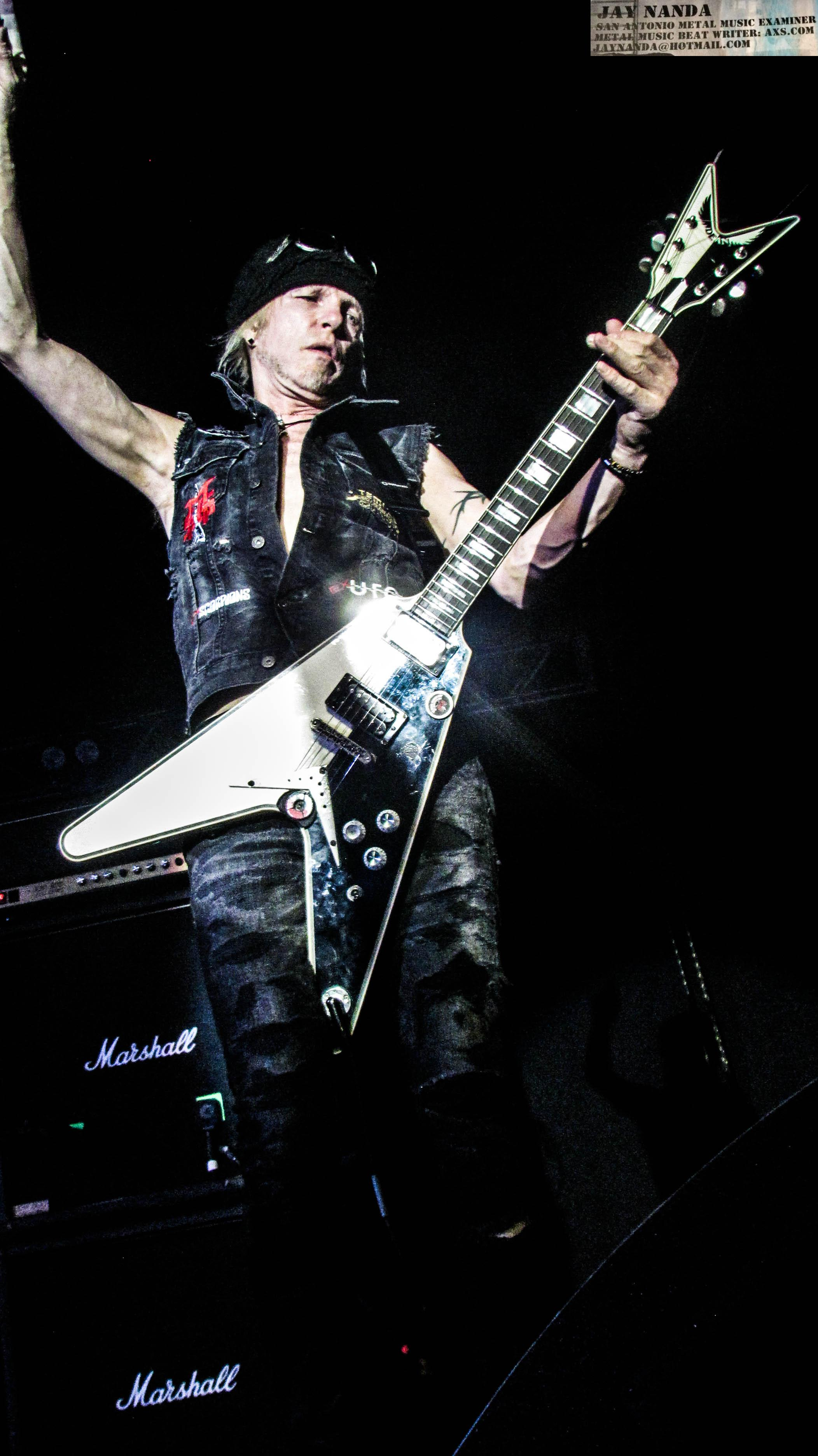 """Schenker was able to get Metallica's Kirk Hammett to guest on the new album's opening track """"Heart and Soul."""""""