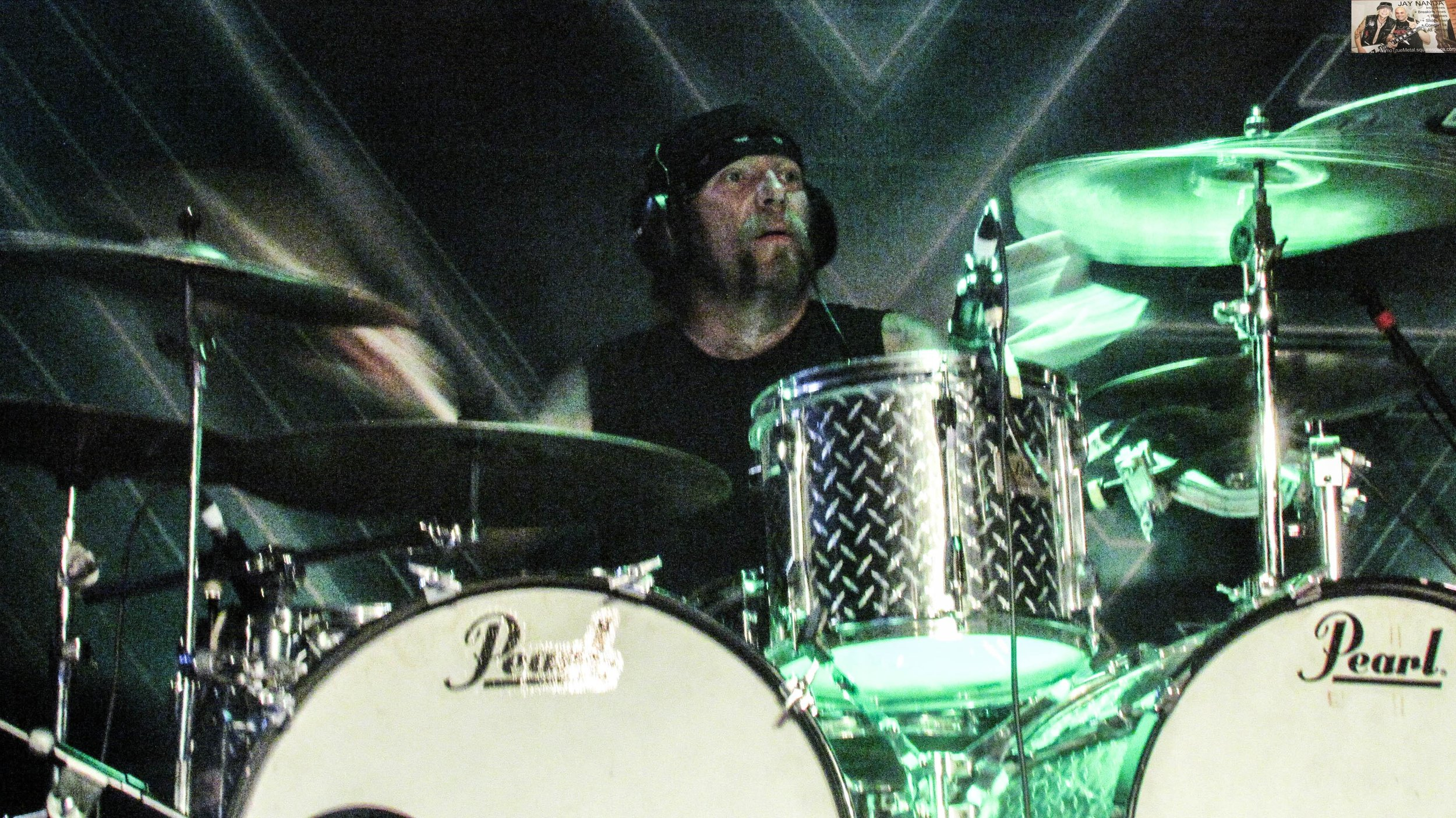 Patrick Johansson, known as being Yngwie Malmsteen's drummer, pulled double duty for Vinnie Moore and Gus G.