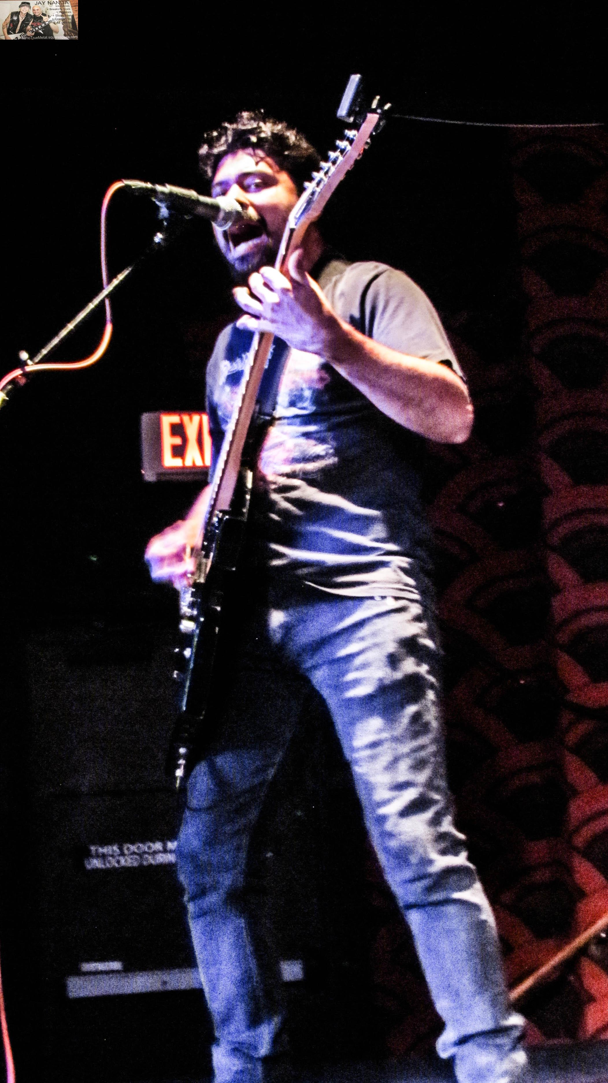 Ozzy Espinoza, vocalist/guitarist for local Megadeth tribute band Rust In Peace, achieved one of his dreams by sharing the stage with Ellefson on several songs.