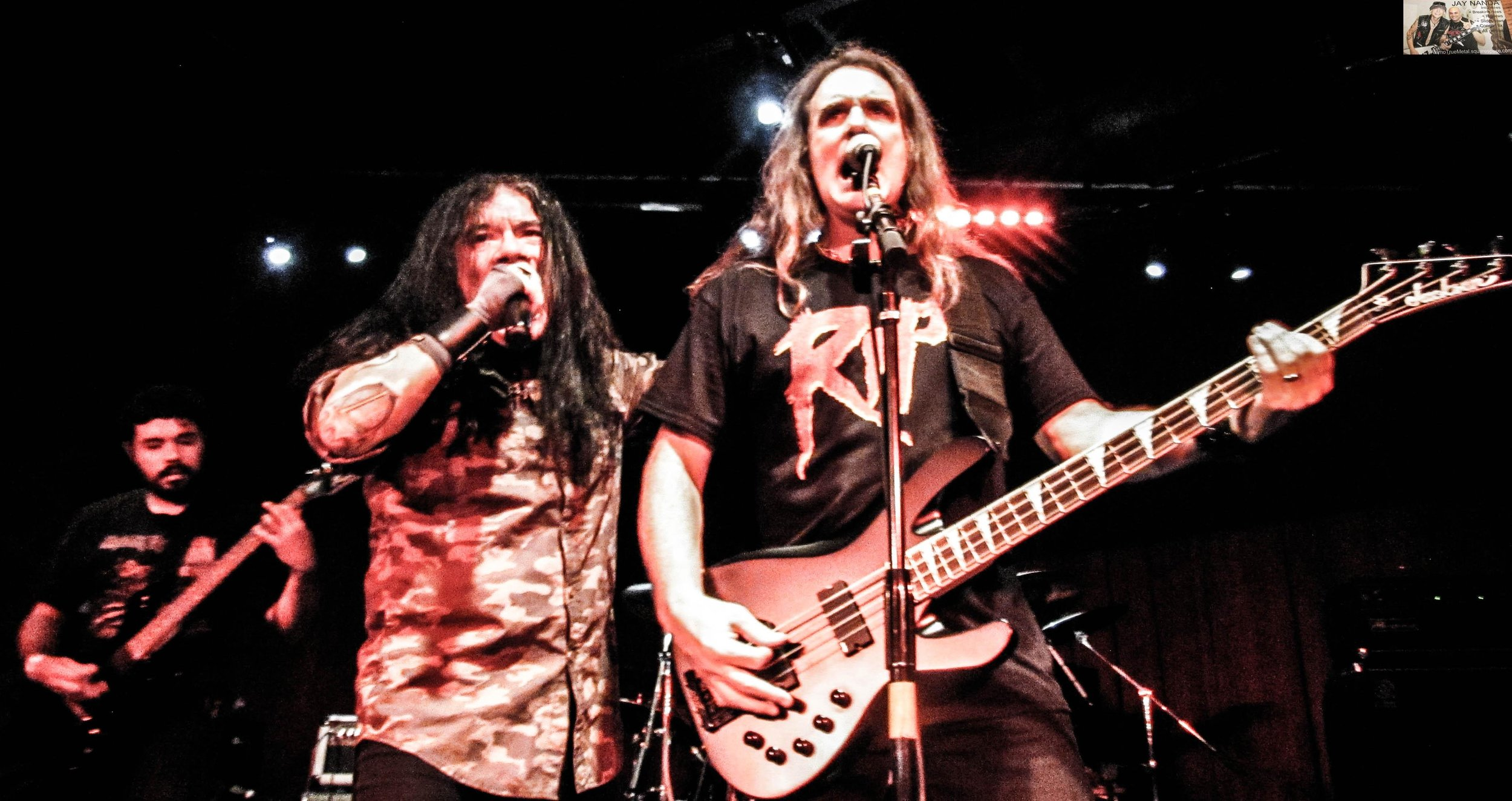 "Rivera and Ellefson also rocked out on covers of Black Sabbath's ""Paranoid"" and Iron Maiden's ""Wrathchild."""