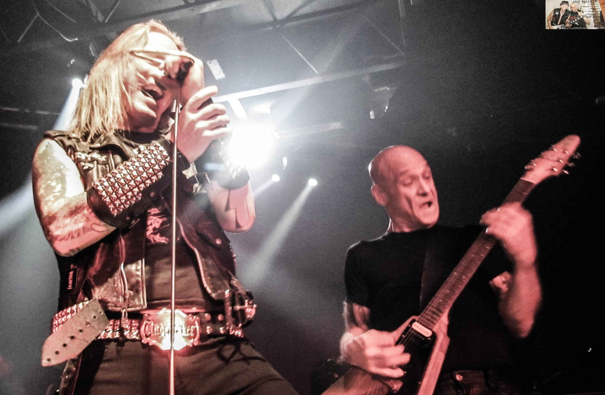 McMaster and Catlin perform a track from S.A. Slayer.