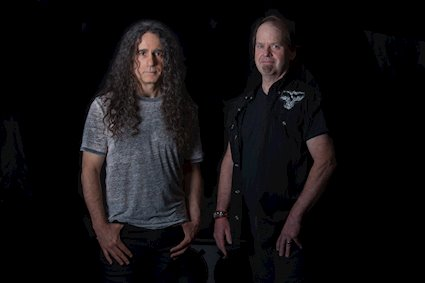 Arch/Matheos is the brainchild of Fates Warning guitarist and founder Jim Matheos (left) and original vocalist John Arch, who spoke to ATM on Monday (photo courtesy Freeman Promotions).