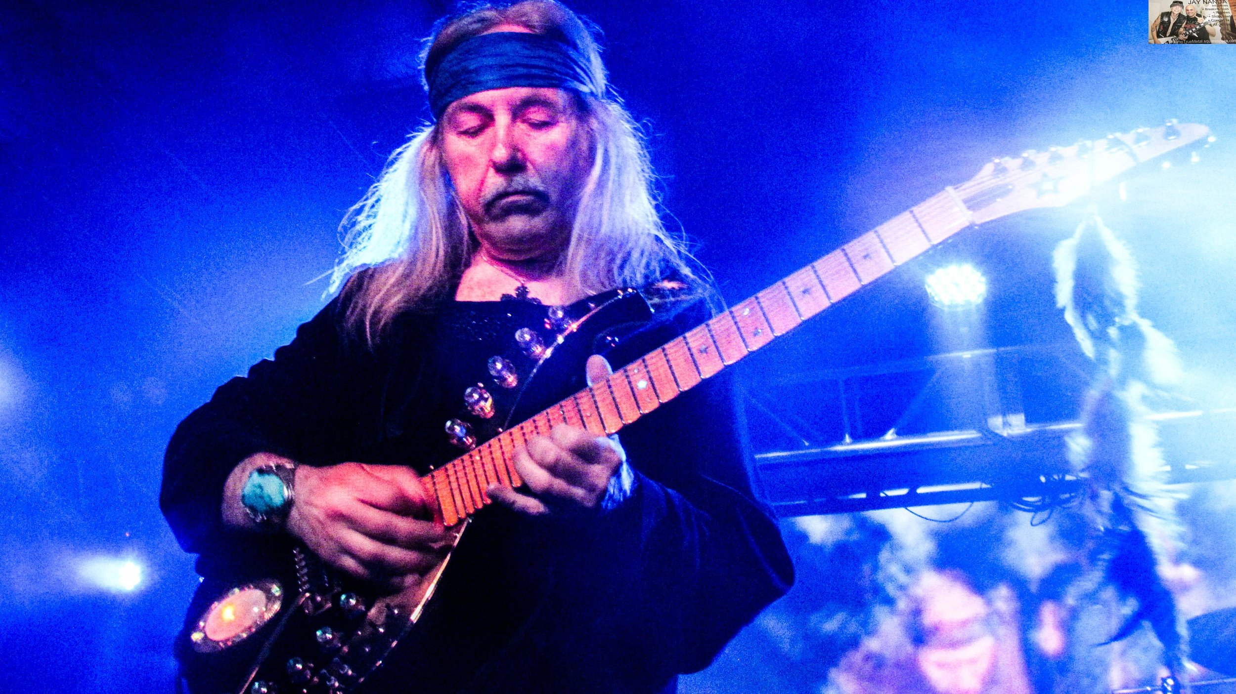Roth was marking 30 years of his post-Scorpions band Electric Sun, 40 years of live Scorpions album  Tokyo Tapes  and 50 years of the first concert he played in 1968.