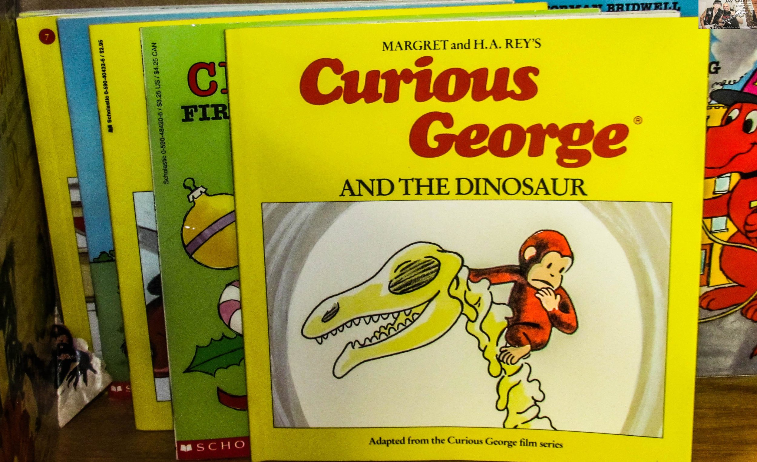 Who doesn't love a little Curious George?