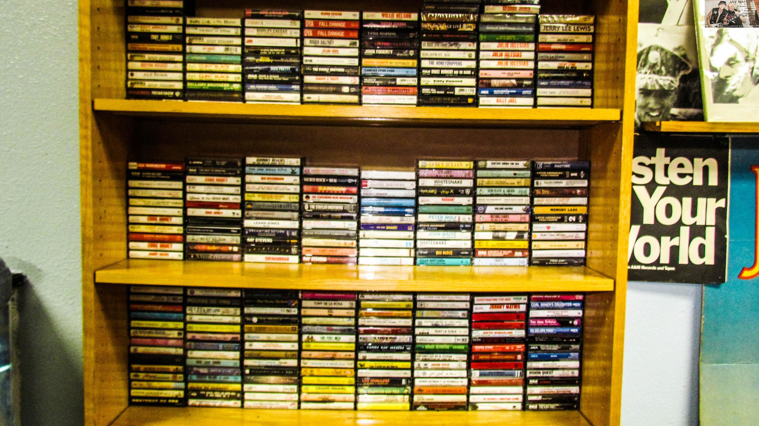 The musical selections at Imagine Books & Records are vast and furious.