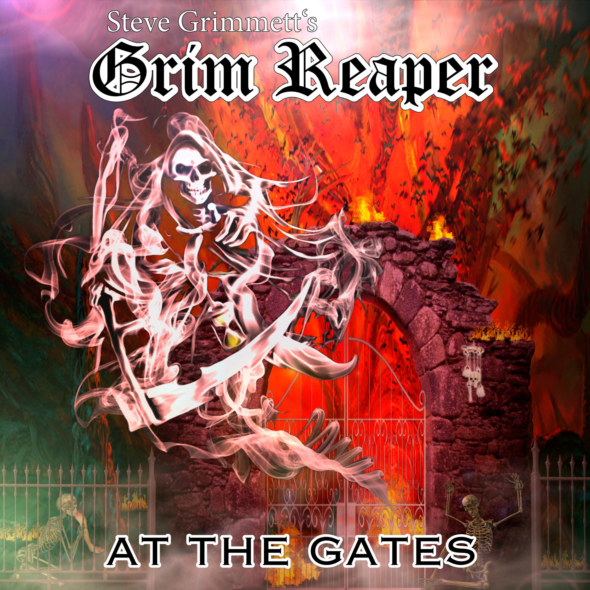 Grim Reaper's fifth album  At the Gates  will drop Oct. 11.