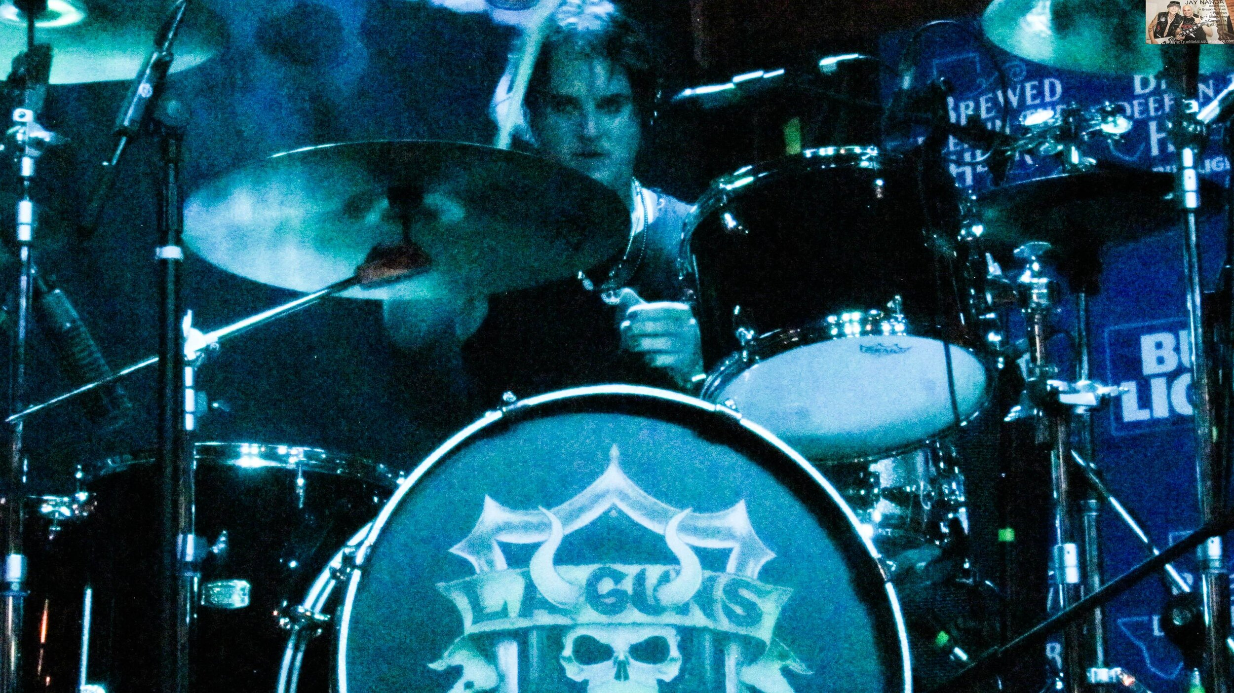 Coogan joined L.A. Guns in March after previous stints with Ace Frehley and Lita Ford.