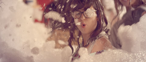 Bubble fun party - Vodafone Like a Child Television commercial