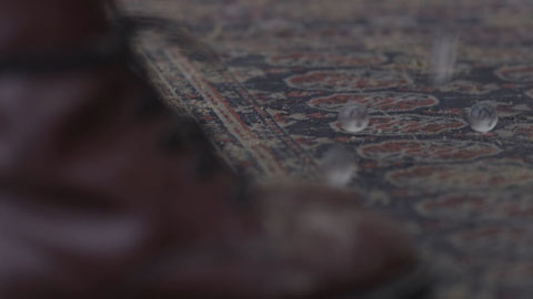 Dropping marbles  - Still frame capture for Jonathan Boulet This Song is called Ragged Music Video Production - Toby Heslop Director Of Photography