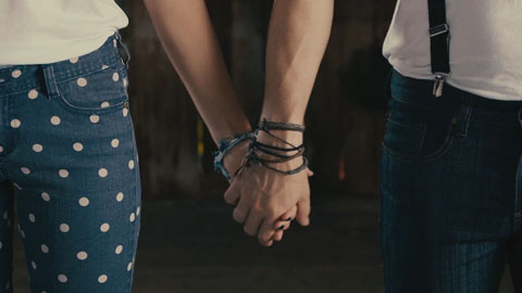 Holding hands - SDS Till Death Do US Part Film Production - DP Toby Heslop