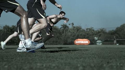 Australian Cricket Team running training - Gatorade The Fuel Within TVC - DP Toby Heslop