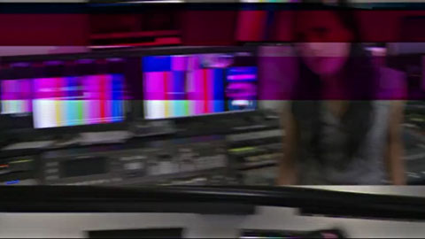 Chaos in the foxtel broadcast control room - Channel [V] - Rhianna Invades Video Broadcast Promo