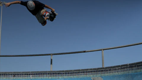 Airing out of Bondi Bowl - Mountain Dew My Office Video advertising production - DOP / Director Toby Heslop
