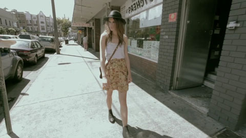 Walking down the street - General Pants Fashion Video - Director Toby Heslop