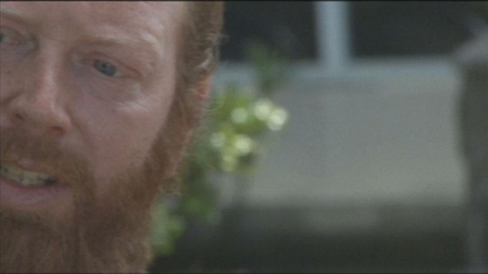 Bearded one eyed bandit skateboarder - Bondi Bowlarama Television production - Lighting Cameraman Toby Heslop