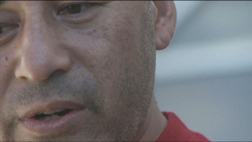 Up close with Steve Caballero - Bondi Bowlarama Television production - Lighting Cameraman Toby Heslop
