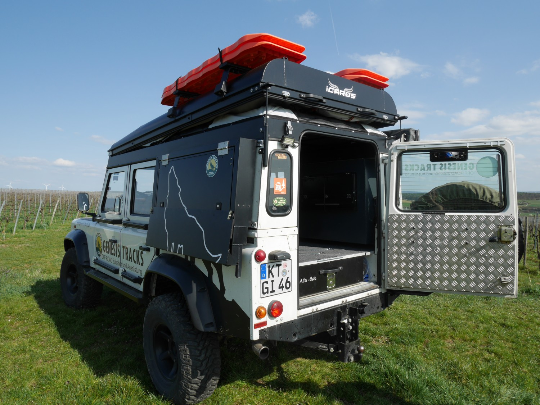 Alu Cab Hubdach Icarus Land Rover Defender Alu Cab