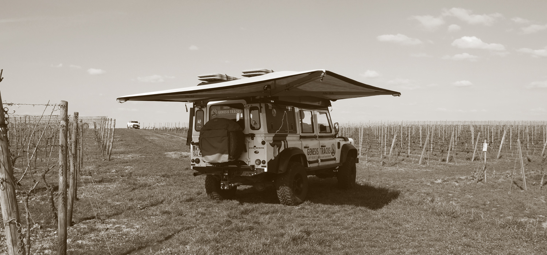 Alu-Cab   270 Grad-Markise