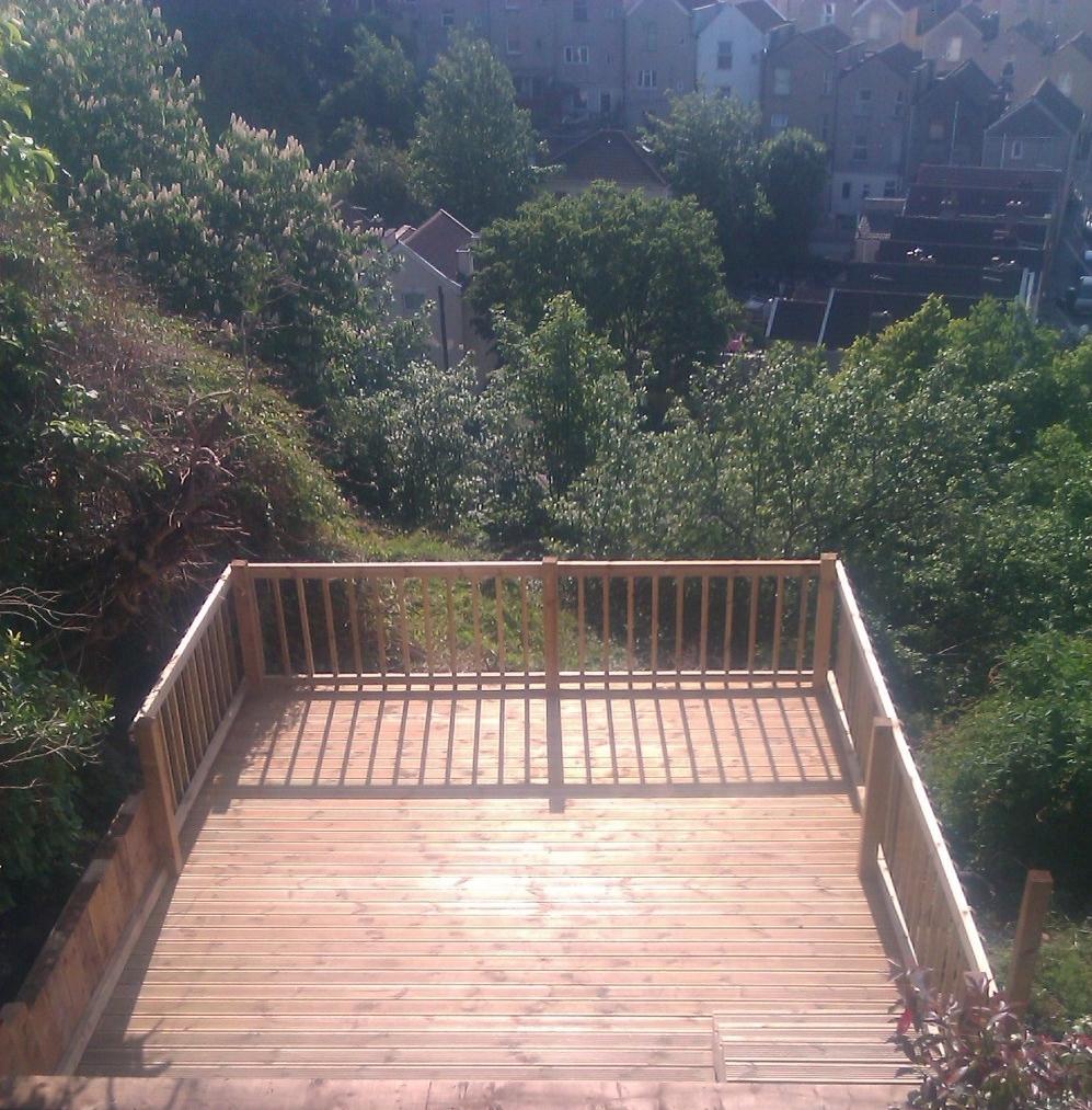 Decking Bristol Landscapes