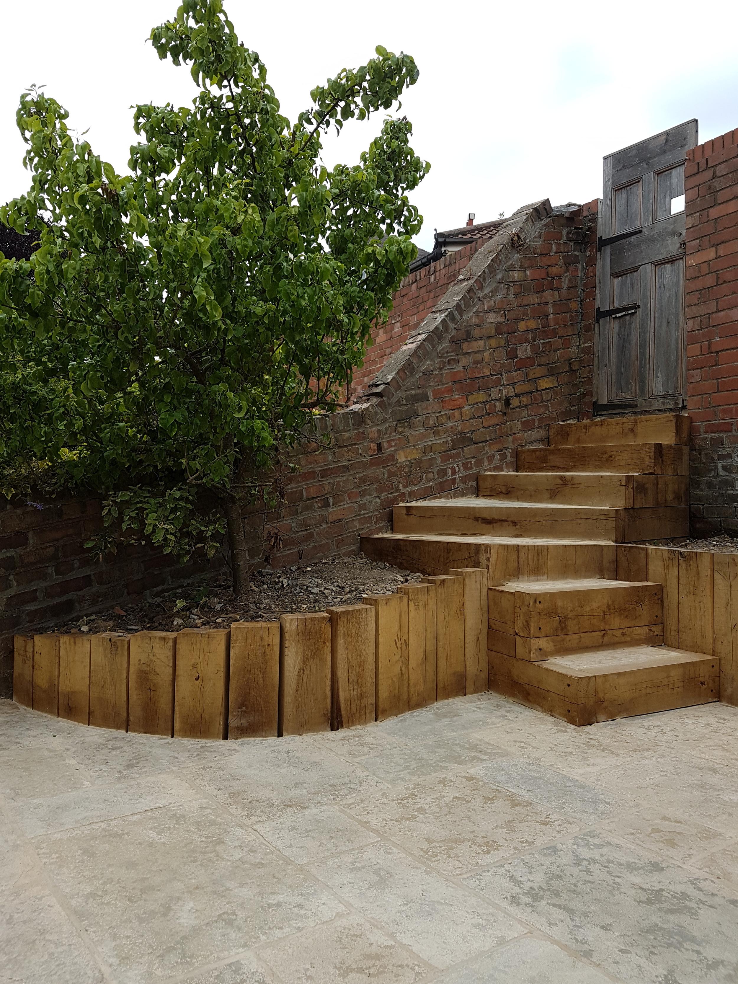 Patio Steps Bristol Landscapes