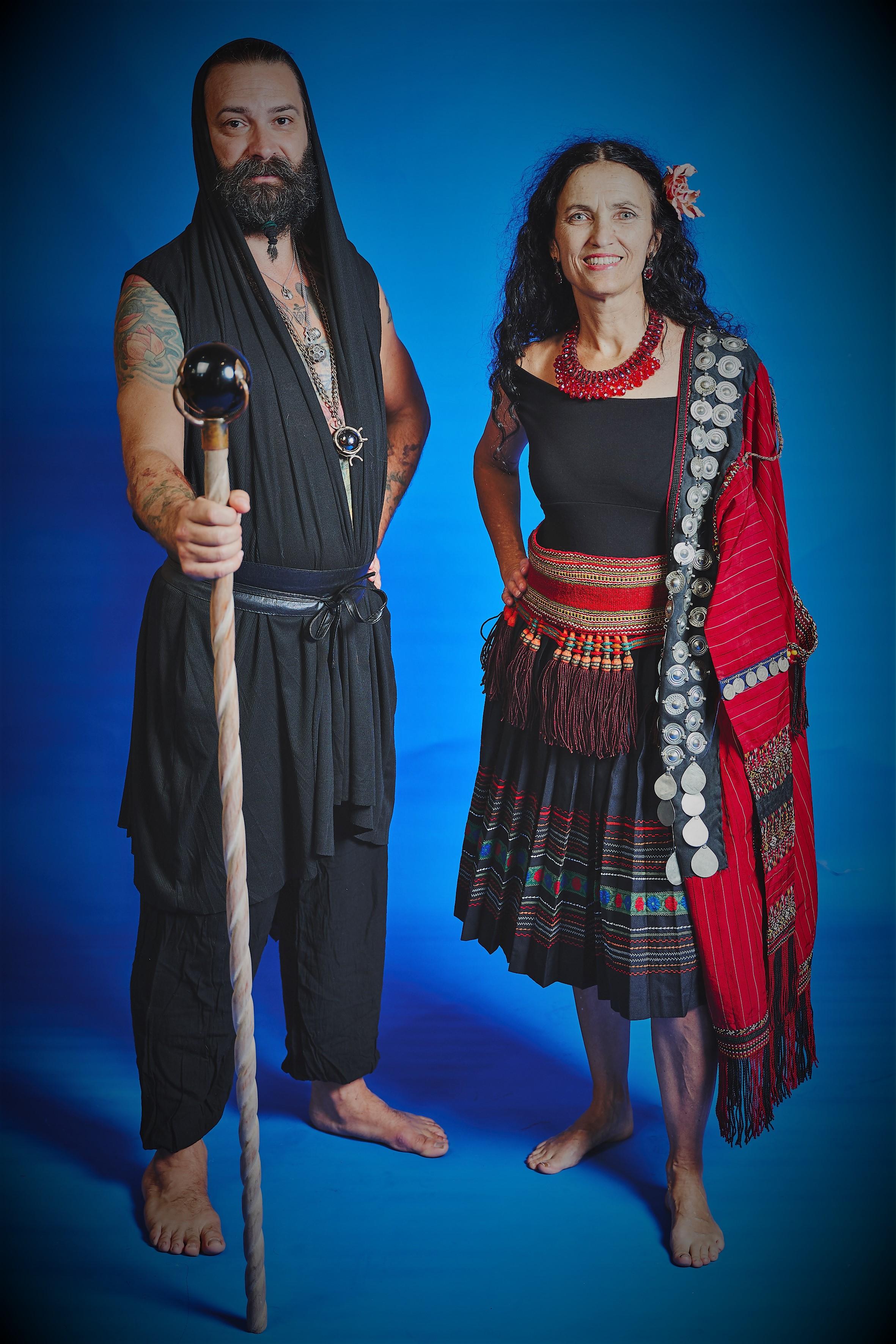 Yorgo Kaporis and Linda Marr