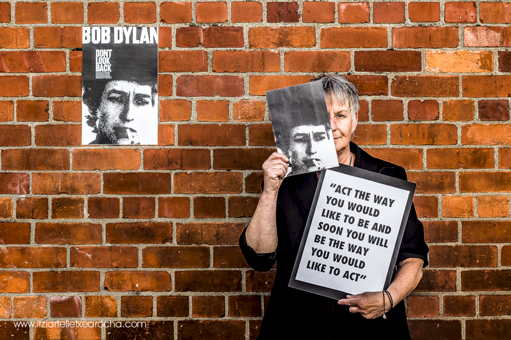 Obsession Series_Bob Dylan with Karin Ahlers