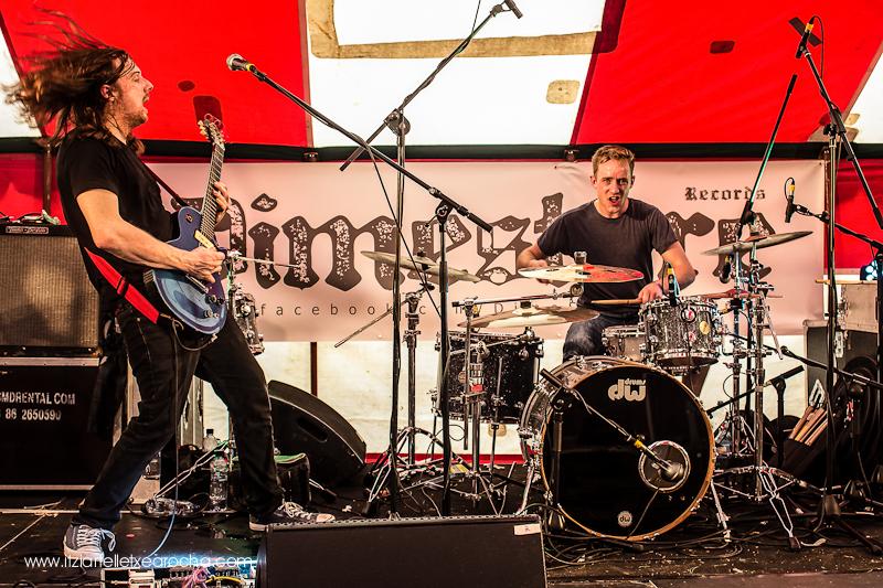 "#knockanstockan2015 Race the Flux ""Dimestore Circus stage"""