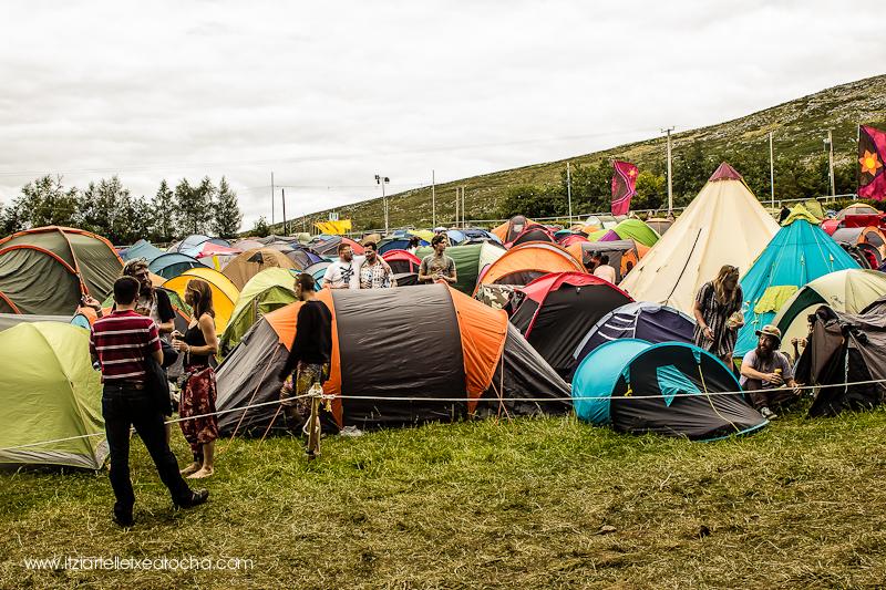 """#knockanstockan2015 """"Main campsite"""""""